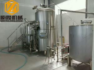 China Steam Heated Small Brewing Systems 1000L Auto Control CE Certificated on sale
