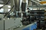 400mm Multilayer Sheet Co Extrusion Line Horizontal Pressure Structure