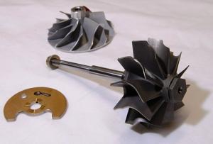 China high quality Turbocharger turbine wheel with K03 thrust collar .thrust sleeve on sale