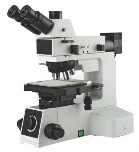 China Trinocular Metallurgical Microscope 50X - 500X Excellent Imaging Performance on sale