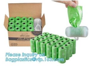 China Eco Friendly Pet Products Scented Pet Waste Bags Dispenser Biodegradable on sale
