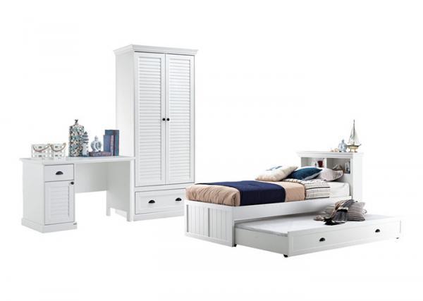 Bunk Bed Childrens Bedroom Furniture Sets White Color ...
