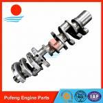 Hino diesel engine parts supplier in China casting steel crankshaft F17D F17E