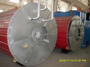 China high efficiency hot water 1400kw oil fired boiler fuel heating on sale