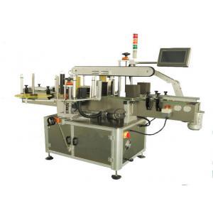 China 50-150 Bottles / Min Sticker Label Machine , Bottle Labeling Equipment CE GMP on sale