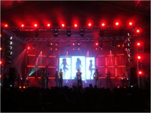 China High Definition DIP Water Proof Outdoor P10mm Stage Led Screens Wall CE / Rohs Approved on sale