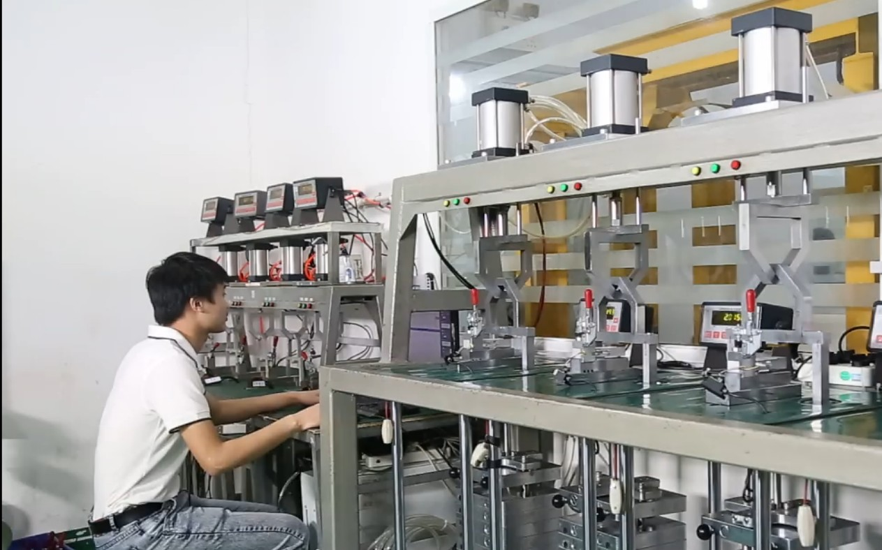 load cell production line