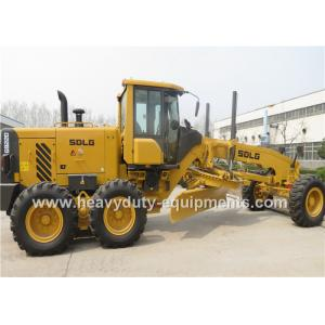 China 2200R / Min Road Construction Machinery 16.5 Ton Motor Grader With 158Kw Rear Axle Drive on sale