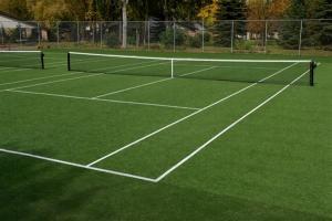 China Suntex Golden Slam-T19 artificial grass for tennis court on sale
