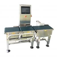 SS304 Automatic Conveyor Weight Checker 1g Accuracy For Food Packing Line