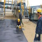 5.8M width black color 1mm HDPE  pond liners for Impermeable Geomembrane by sincere factory price supply