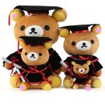 Doctor Graduation Plush Teddy Bear For Graduation Celebration 30cm