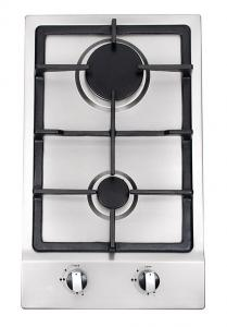 China Built In Stainless Steel 2 Burner Gas Hob , 2 Burner Gas Range With Thermocouple on sale