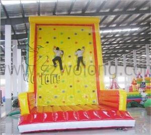 China Good quality inflatable climb wall ,kids climbing wall ,safe inflatable climbing toys on sale