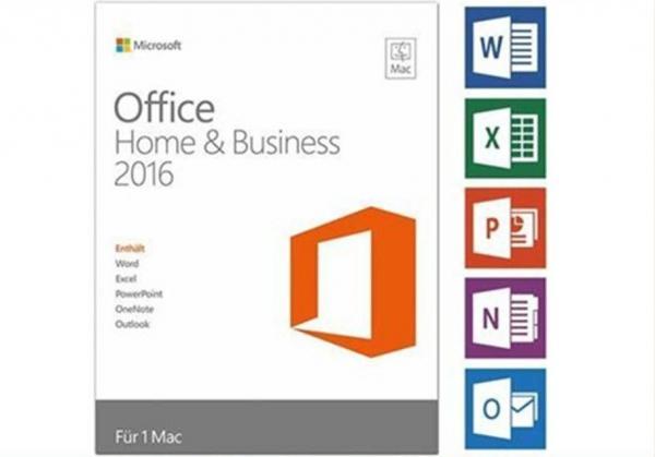 Genuine Key Card Microsoft Office 2016 Pro Plus Retail Box