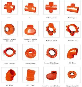 China FM,UL GROOVED PIPE FITTING on sale