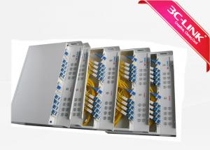China 19 Inch Rack / ABS Type CWDM MUX DEMUX Device LC Connector Wide Pass Band on sale