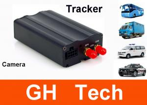 China 2 digital inpute Real time car gps tracker with camera fuel sensor and temp sensor system on sale