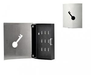 China 9 Positions Lock Metal Key Holder Box with Magnet / Metal Products Key Save Cabinet on sale