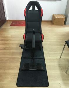 Quality Adjustable Folding Racing Simulator Seat With Support of Steering Wheel+Pedal+Sh for sale