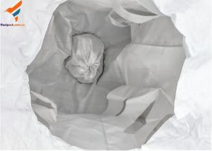 China Bulk Bag/ Ton Bag with Baffle PP Material For Chemical Powder/ Gravel Mining on sale