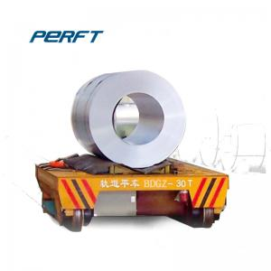 China heavy duty material handling equipment-50 ton steel coil transfer car on sale