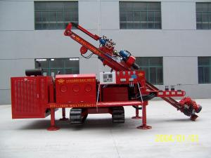 China MDL-160E Top Drive Power Head Borehole Drilling Machines Three Head Clamping Device on sale