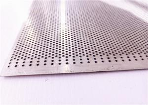 China 2mm Hole 4mm Pitch Perforated Sheet Metal 4x8 For Hotel Hall on sale