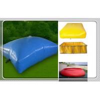 Durable Corrosion Resistant PVC Flexible Blue Water Bladder Tank for Liquid PVC water bags