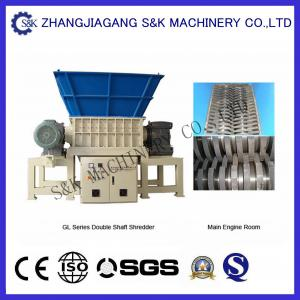 China Municipal Solid  Waste Shredder Machine with Low Consumption , Waste Recycling Equipment on sale