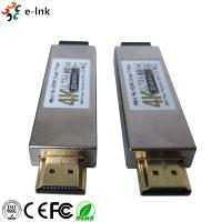 China 4K Mini 300m HDMI Over OM3 Fiber Optic Converter No Delay Loss Optical Fiber Extender on sale