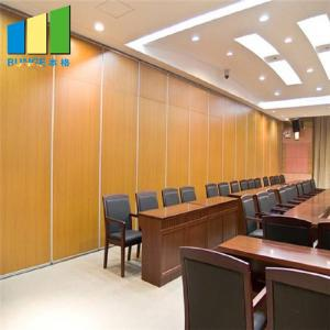 China Acoustic Operable Partitions Soundproof Movable Partition Walls For Meeting Room on sale