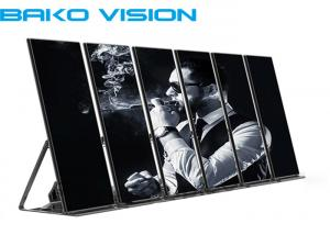 China Super Bright Advertising LED Display Indoor Shop Window LED Mirror LED Screen on sale