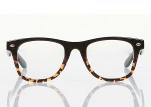 cute plastic modern optical frames leopard print glasses frames for decoration - Modern Glasses Frames