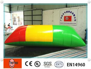 China UV Resistance Strong Inflatable Water Blob Pillow for commercial water park equipment on sale