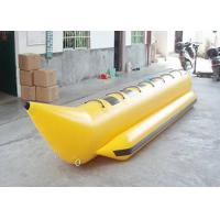 7 Persons 0.9 mm PVC tarpaulin Banana Boat Inflatable Fly Fish Boats Water Race Sport Games