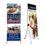 Advertising x banner standing banner promotional display economic printing x-banner