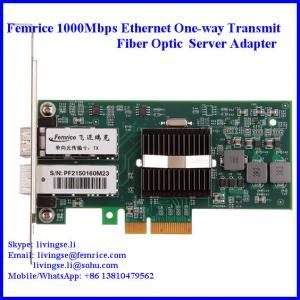 China 1000Mbps Ethernt PCI Express x4, Single Transmit Port Server NIC Cards on sale