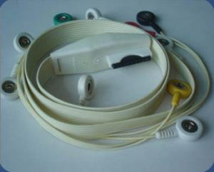 China Mortala 10 lead Holter cable, snap end, IEC on sale
