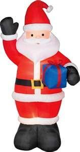 China ODM coated nylon Inflatable Santa claus outdoor christmas blow ups Decorations on sale