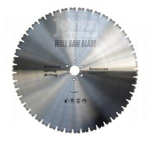 China Laser Welded 800mm Diamond Wall Saw Blades For Cutting Reinforced Concrete on sale