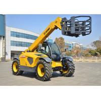 High Efficiency XC6-3007 Telescopic Boom Forklift / Telehandler Safety Deutz Engine Fork Length 1200mm
