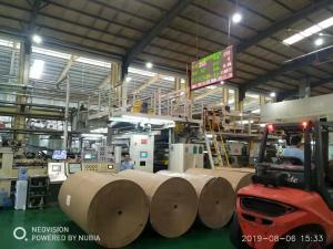 China WJ300-2500 5 ply Corrugated Cardboard Production Line/300m/Min Speed/2500mm Width on sale