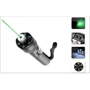 China Green Laser Flashlight[Green Laser Pointer + LED Torch Light ](TD-GLP-01) on sale