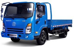 China Light Duty Truck Assembly Line / Cargo Dump Truck on sale