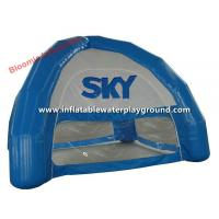 Small Blue Four Season Inflatable Dome Tent For Outdoor Promotion / Exhibition