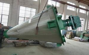China Máquina de mistura do pó da forma de cone com único parafuso, misturador industrial do pó on sale