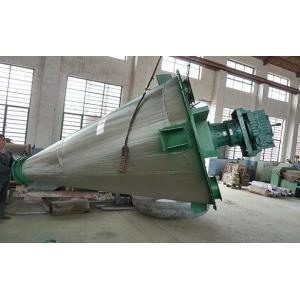 China Malaxeur de poudre de forme de cône avec la vis simple, mélangeur industriel de poudre on sale