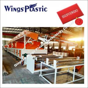 China The Professional Manufacturer of PVC Coil Mat Production Line on sale