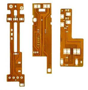 China Polyimide Copper Flexible PCB Board 1 OZ , Immersion Gold Printed Circuit Boards on sale